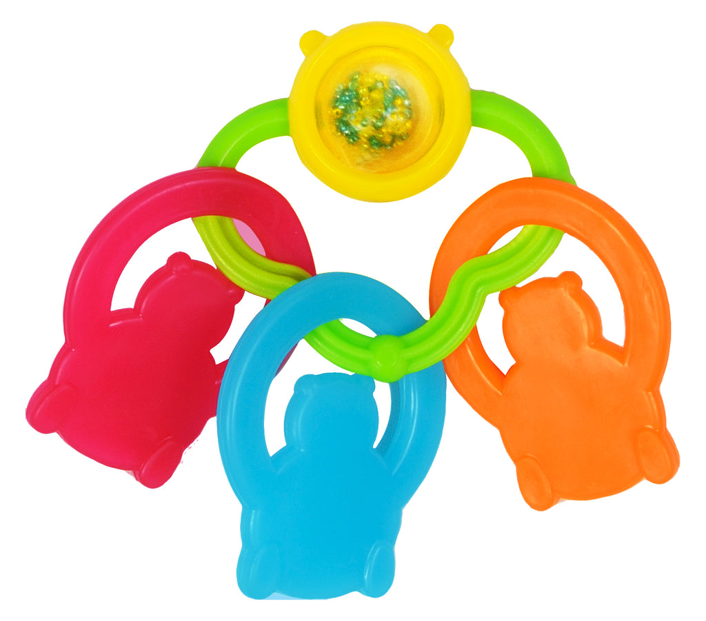 Funskool Giggles Bear Teether for Babies