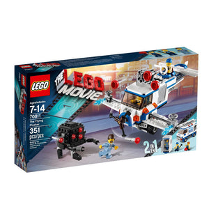 Lego Movie  , The Flying Flusher  ,  Lego 70811