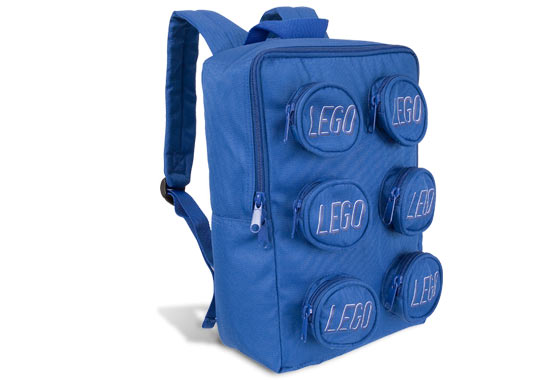 Lego Brick Backpack Bag Blue