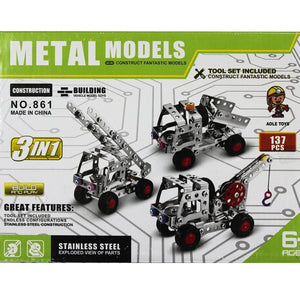 Metal Models 3 in 1- 861