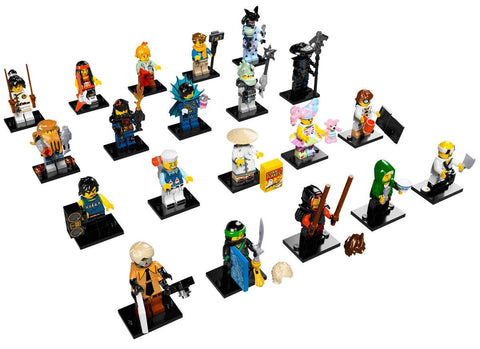 THE LEGO® NINJAGO® MOVIE™ Minifigures 71019 ( One Random Surprise Pack )