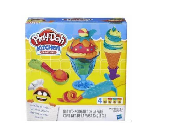 Play Doh Kitchen Creations Ice Cream Treats