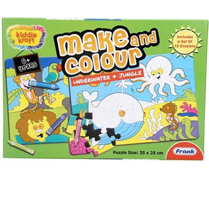 Frank 2 In 1 Underwater And Jungle Puzzle 23104