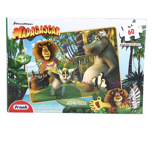 Frank Madagascar Jigsaw Puzzle Multicolor - 60 Pieces 40403