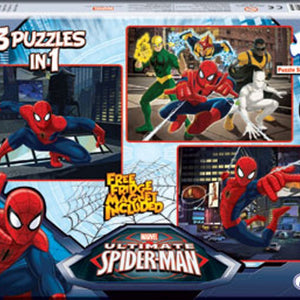 Frank Ultimate Spiderman 3X48 Piece 90126