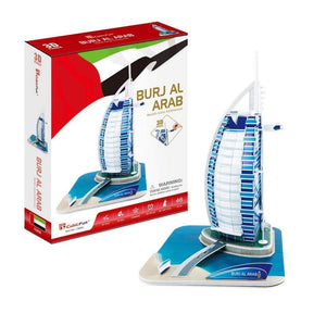 Cubic Fun 3D Burj Al Arab Puzzle World's Great Architecture C065H