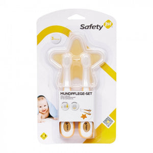 Safety First Oral Care Set- 4 Pieces (Multi Color) 32110029