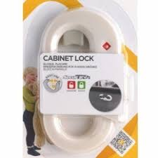 Safety first Child Safety Sliding Lock for Cabinet & Cupboard Doors 39094760