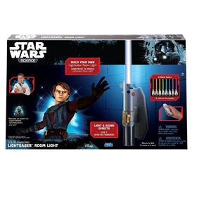Uncle Milton - Star Wars Science - Multicolor Lightsaber Room Light 15078