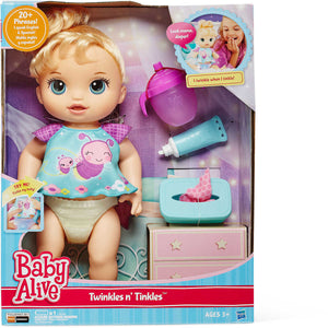 Baby Alive Twinkles and Tinkles Blonde