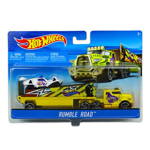 Hot Wheels Rumble Road Vehicle Car Included! BDW51-BDW56