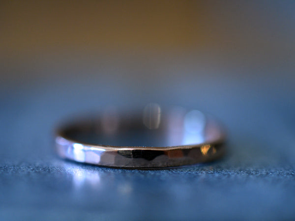 Customised 14ct Rose Gold Wedding Band for Women