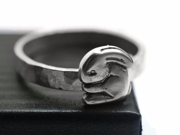 Handmade Silver Rabbit Ring