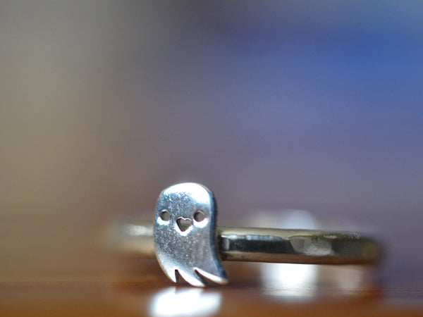 Sterling Silver Ghost Ring