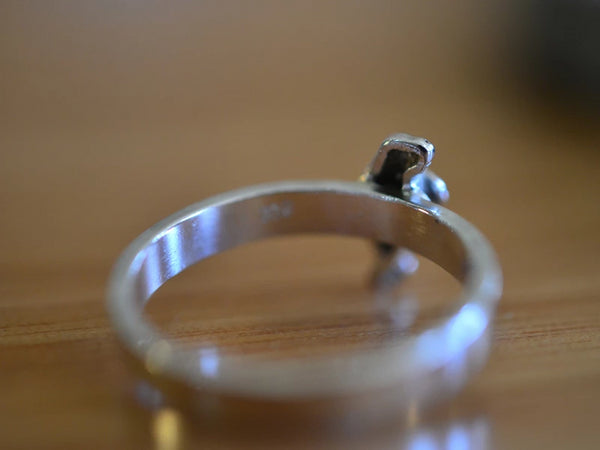 Sterling Silver Manatee Ring