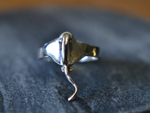 Sterling Silver Stingray Ring