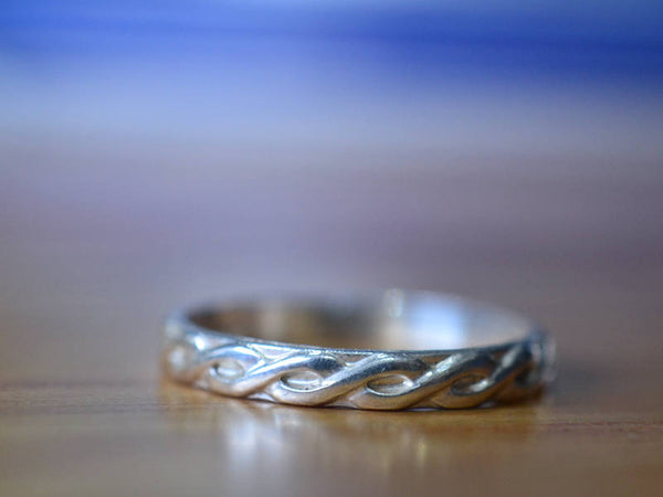 Handmade Sterling Silver Celtic Braid Ring