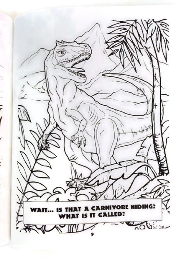 Coloring Books For Adults Dinosaurs : Dinosaur coloring book clade gravim cladogram adult children