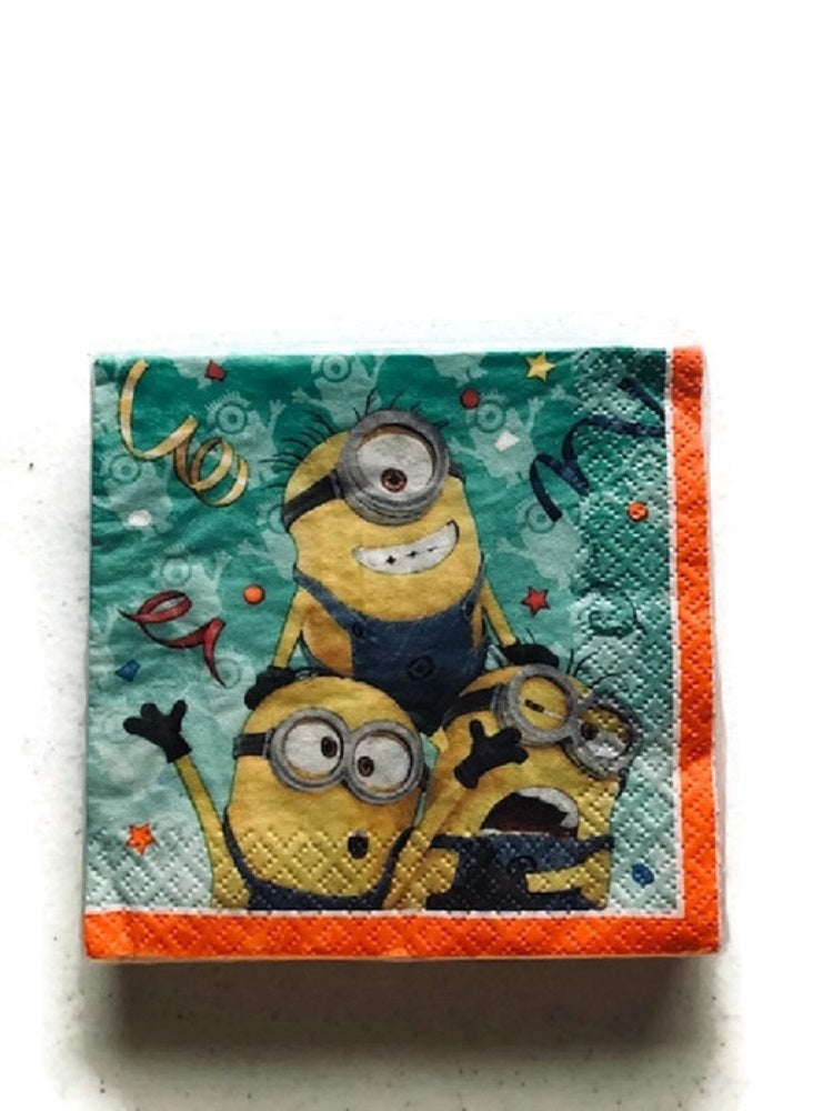 ... Despicable Me Minions Party Bundle Plates Cups Napkins Candles Table Cover Google Eyes Birthday ...  sc 1 st  Clade-Gravim & Despicable Me Minions Party Bundle Plates Cups Napkins Candles Table ...