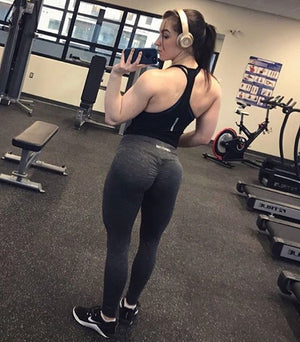 Black Scrunch Leggings