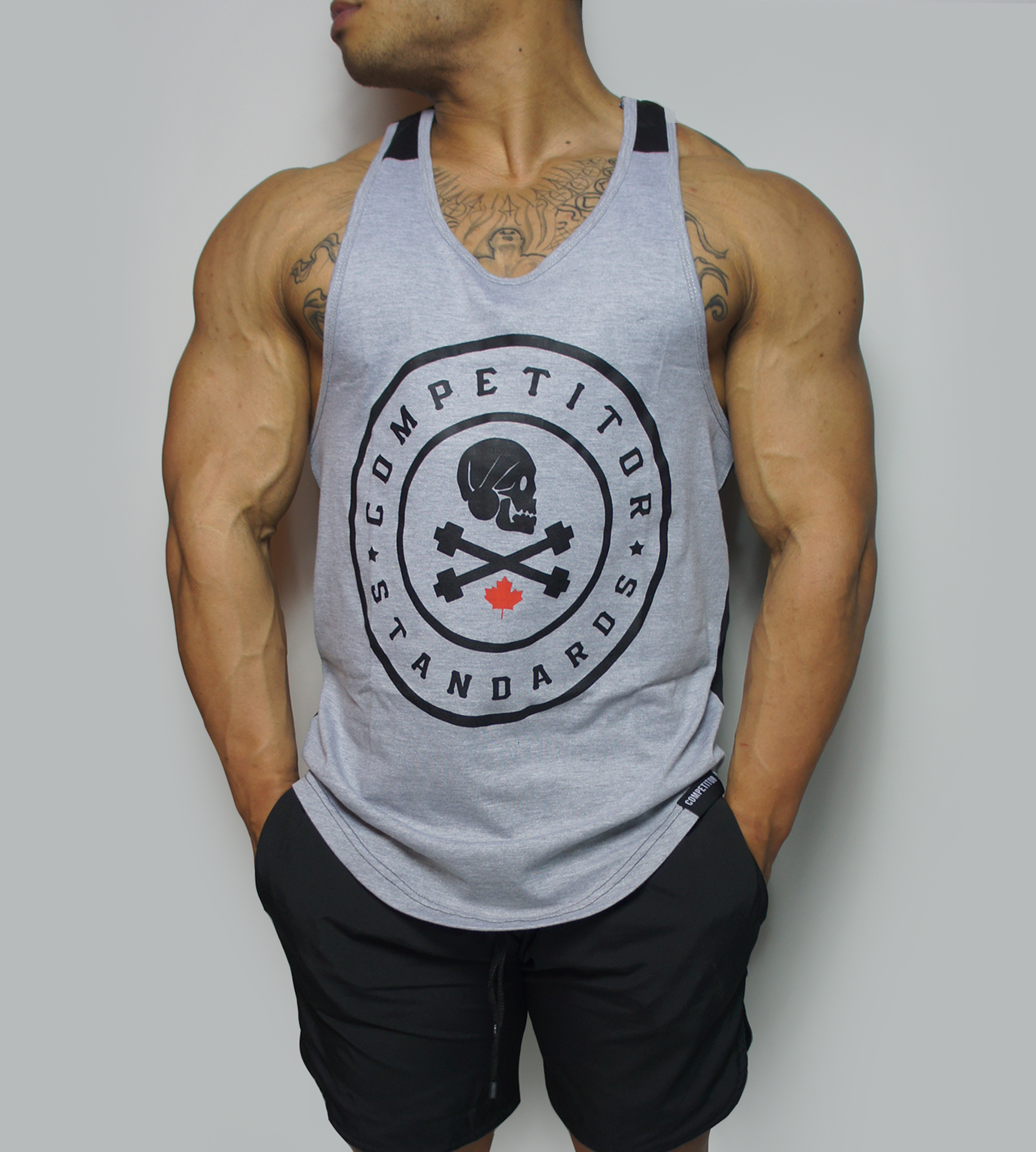 Dual Standards Stringer (Gray)