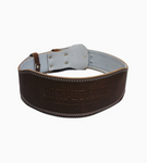 "4""Leather Lifting Belt (Brown)"