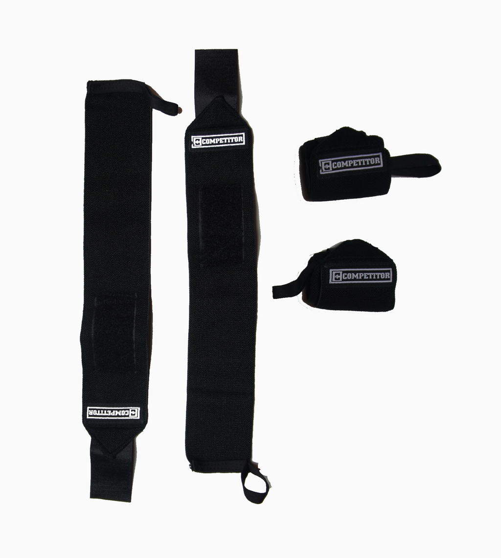 Wrist Wraps (All Black)