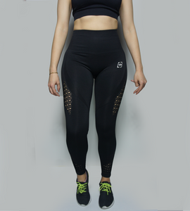 Dynamic Seamless Leggings (Black)