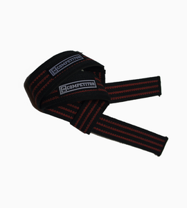 Padded Lifting Straps (Red)