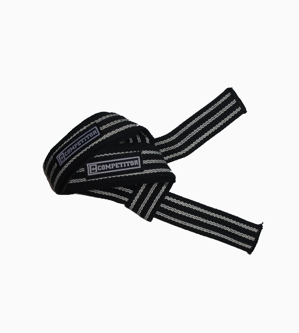 Padded Lifting Straps (White)