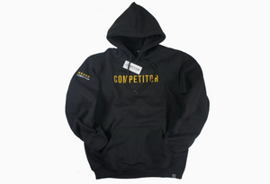 Elite Pullover (Black/Gold)