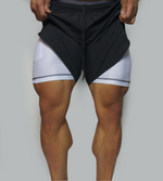 Dual Performance Shorts - Black