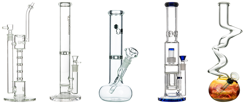 types of bongs