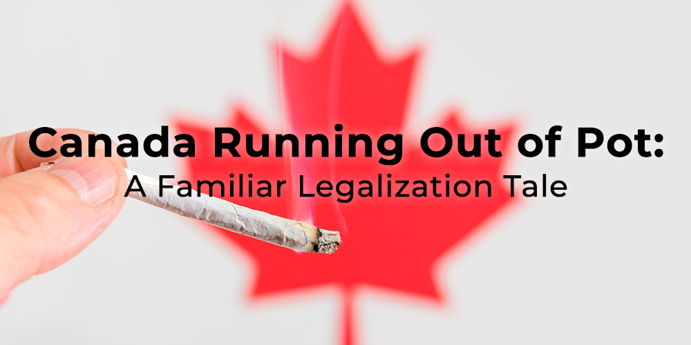 canada running out of pot