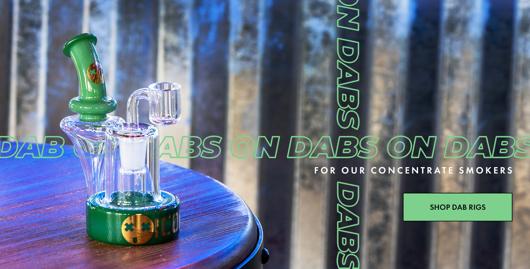 Dab on dabs!  DankStop has your dream dab rig for your concentrate needs.