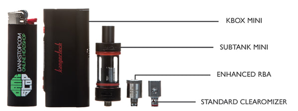 parts of a vaporizer kangertech
