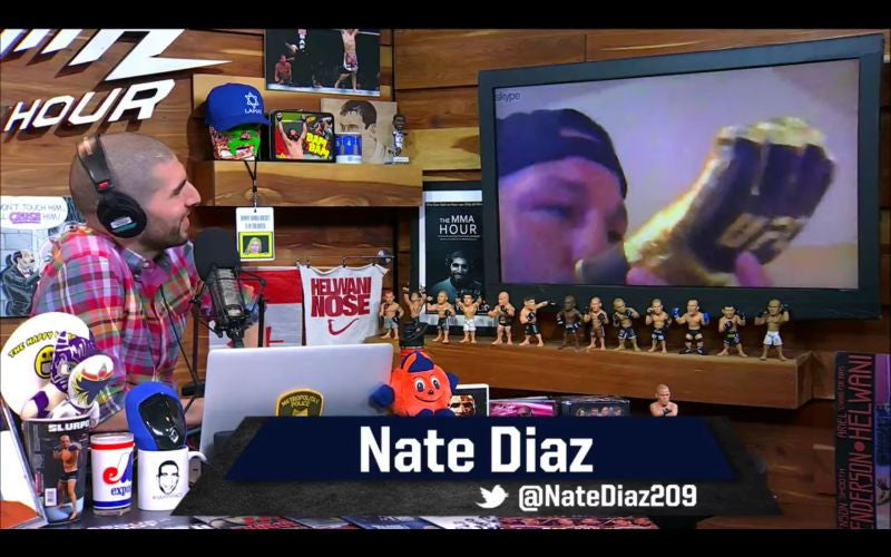 The MMA Hour with Nate Diaz - 5/3/2017