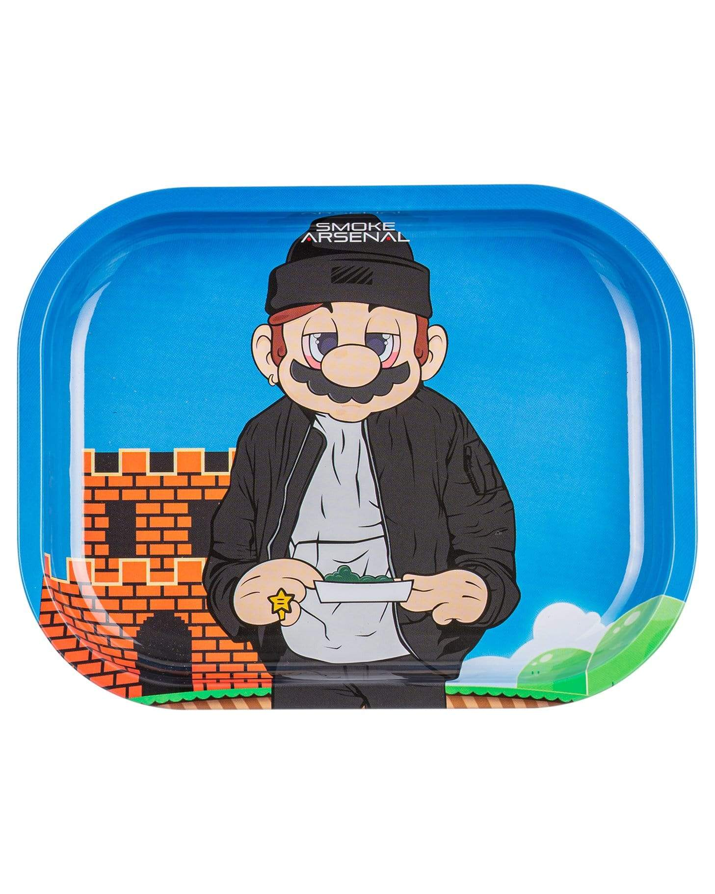 Small Rolling Mario Tray