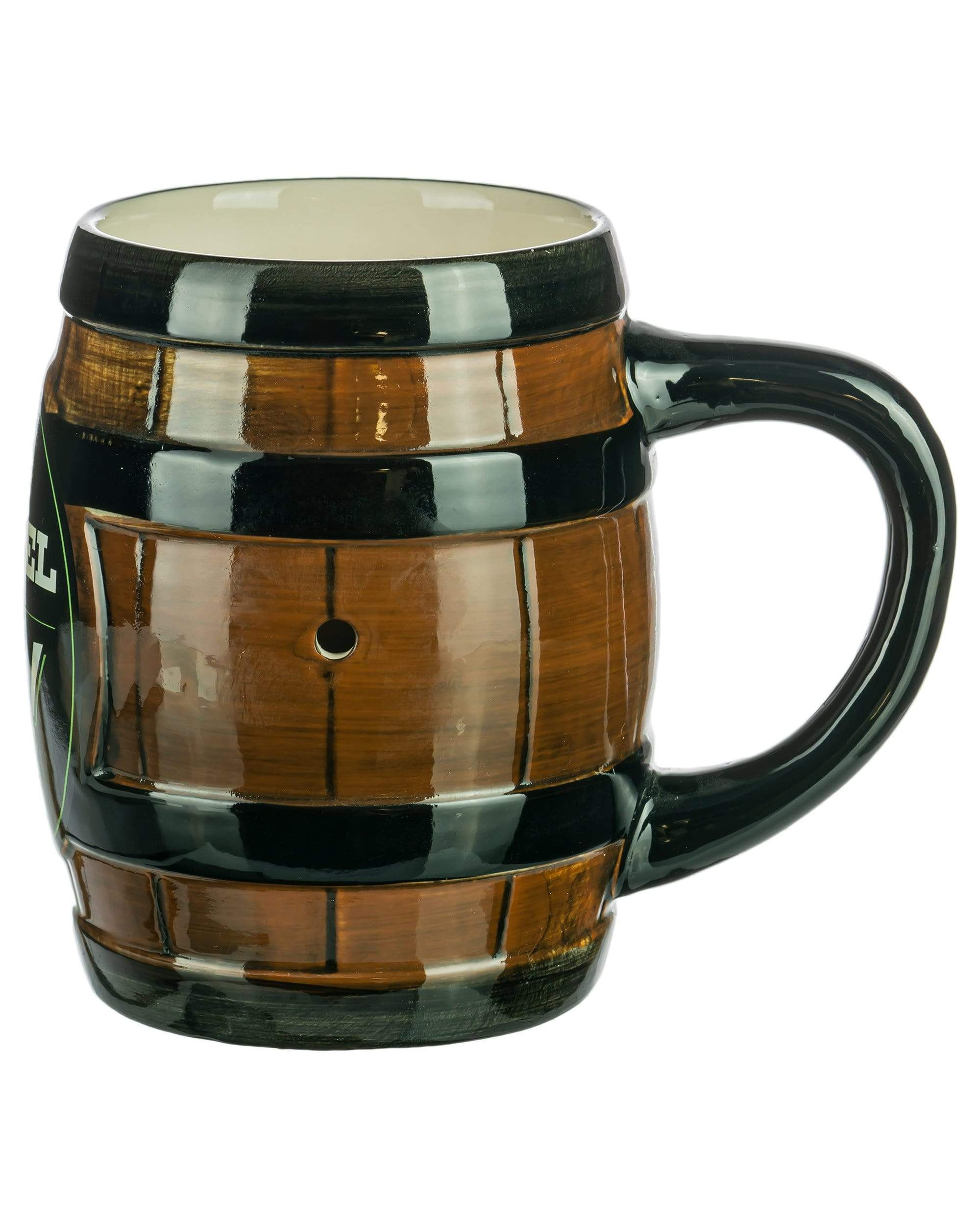 "Large ""Barrel of Fun"" Pipe Mug"