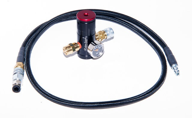 Redline Mini SFR High Air Flow Regulator Set  (Standard Pressure / High Pressure)