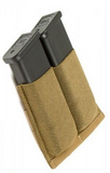 SHE - 22038 Low Profile Double Pistol Mag Pouch (Black / Tan / OD Green)
