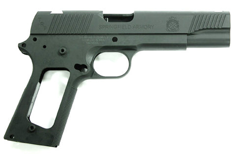 Guarder Aluminum Slide & Frame for MARUI MEU.45 (TRP/Black)