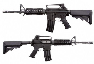 WE M4 RIS GBBR (Black / Tan)