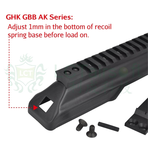 LCT AK Upper Rail System (Dust Cover Replacement)