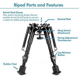 BCA M3 Harris-Style Spring Release Bipod