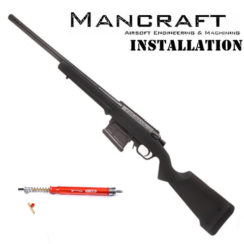 BCA Service Mancraft Sniper Installation (Starting Rate)