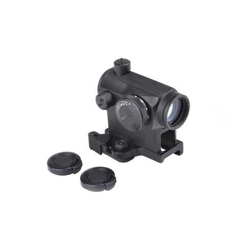 AIMO T1 Red Dot Sight with QD Mount(Black / Tan)