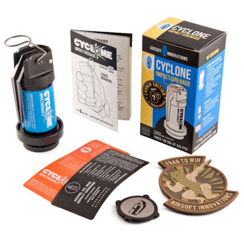 Airsoft Innovations Cyclone Impact Grenade (Reusable)