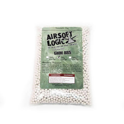 Airsoft Logic Bio BB 0.3g 12kg Case (Bulk Ammo)