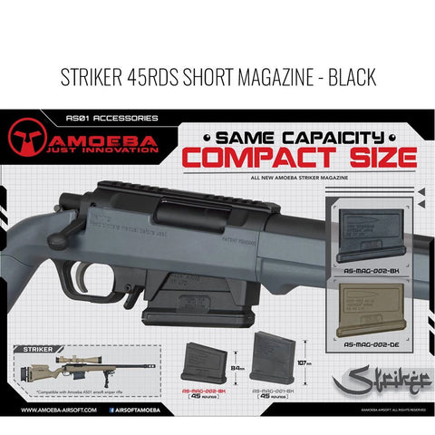Ares Amoeba Striker Sniper Rifle Magazine (Long / Short)